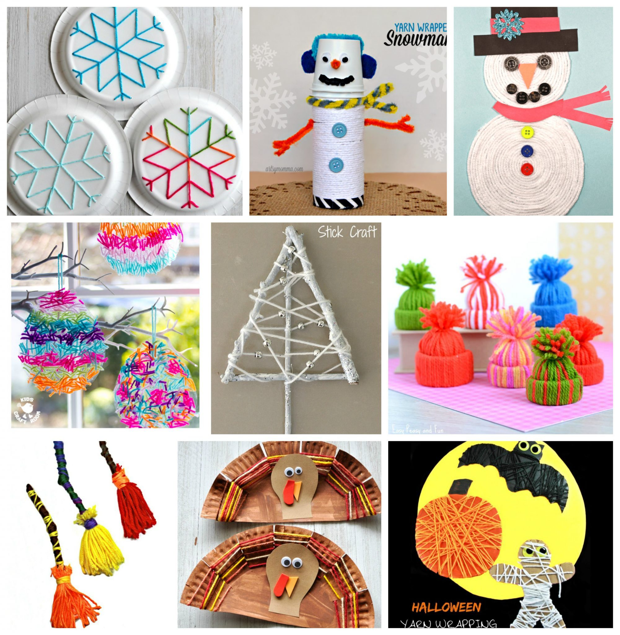 10 Great Easy Arts And Craft Ideas 40 fun fantastic yarn crafts the pinterested parent