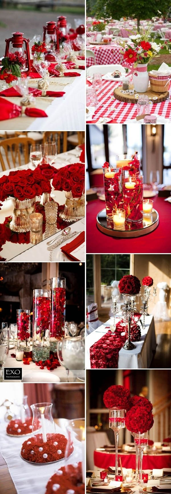 10 Spectacular Red And White Wedding Ideas 40 inspirational classic red and white wedding ideas 1 2020