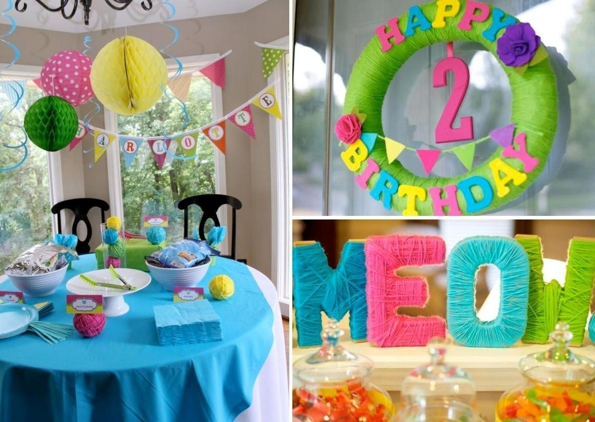 10 Stunning Decorating Ideas For A Birthday Party 40 luxury simple decoration for birthday party at home decoration