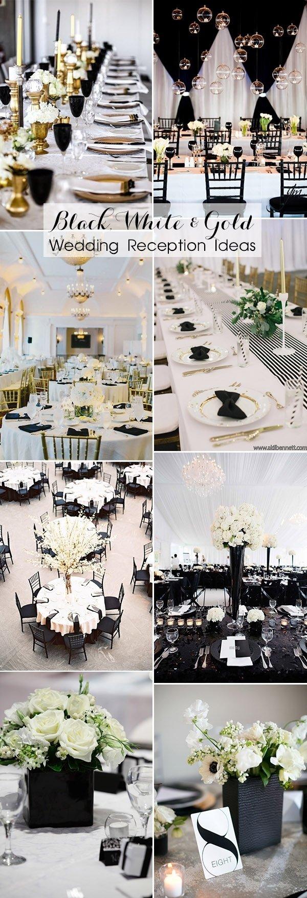 10 Amazing Black And White Wedding Ideas 40 most inspiring classic black and white wedding ideas 2021