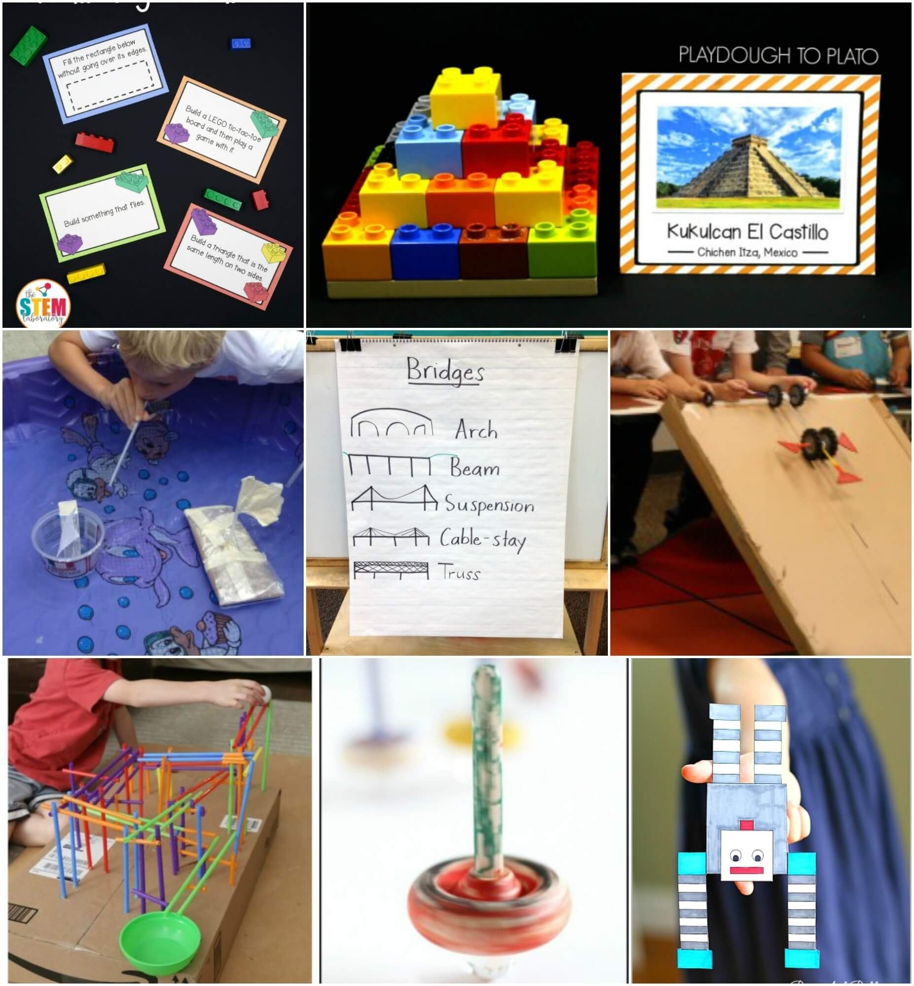 10 Wonderful Stem Project Ideas For Middle School 40 stem activities for kids playdough to plato 1 2020