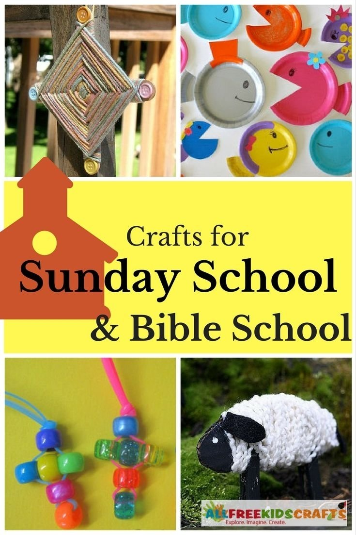 10 Awesome Vacation Bible School Crafts Ideas 40 sunday school crafts and bible school crafts for kids etude 2020