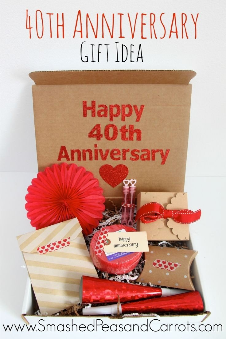10 Famous 40Th Anniversary Gift Ideas For Parents 40 wedding anniversary gift ideas for parents new 40th anniversary 2020