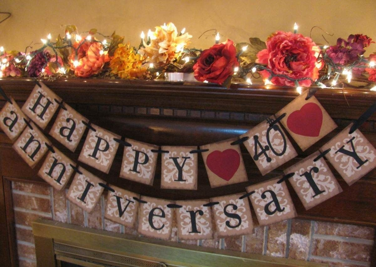 10 Most Recommended Ideas For 40Th Wedding Anniversary 40th anniversary party theme ideas 40th pinterest 40th 1 2020
