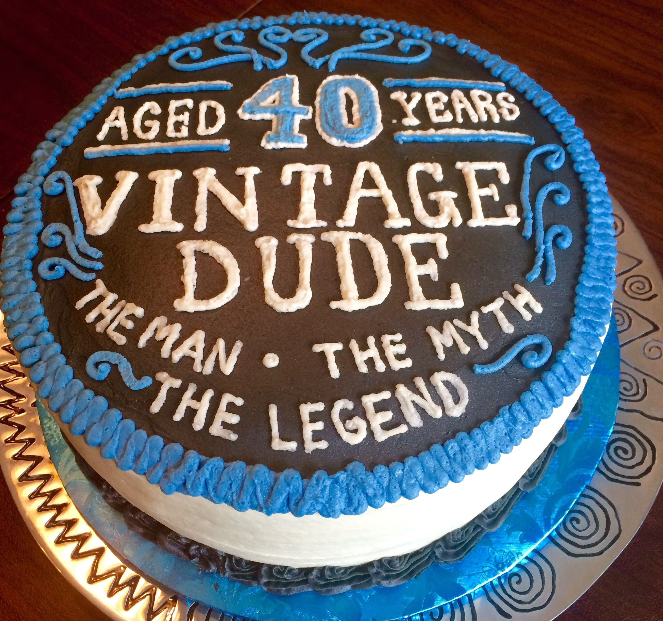 10 Stunning 40Th Birthday Cake Ideas For Men 40th Cakes 40