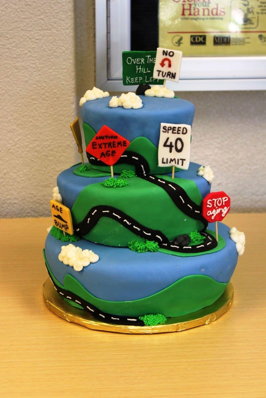 10 Stunning 40Th Birthday Cake Ideas For Men 40th And Recipes