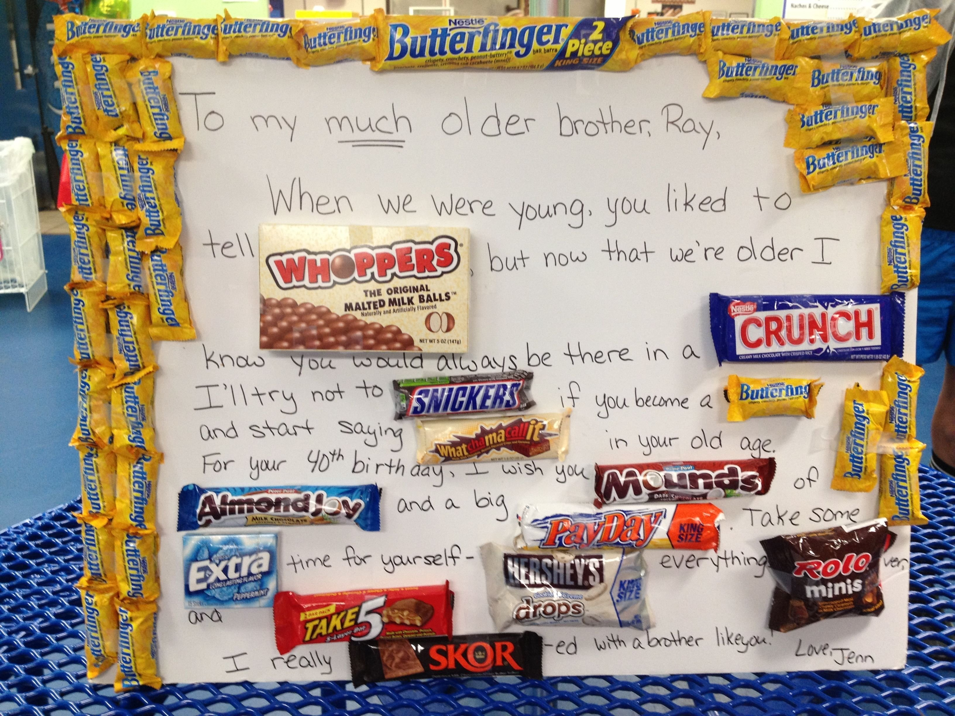 40th birthday gift for my brother   products i love   pinterest   40