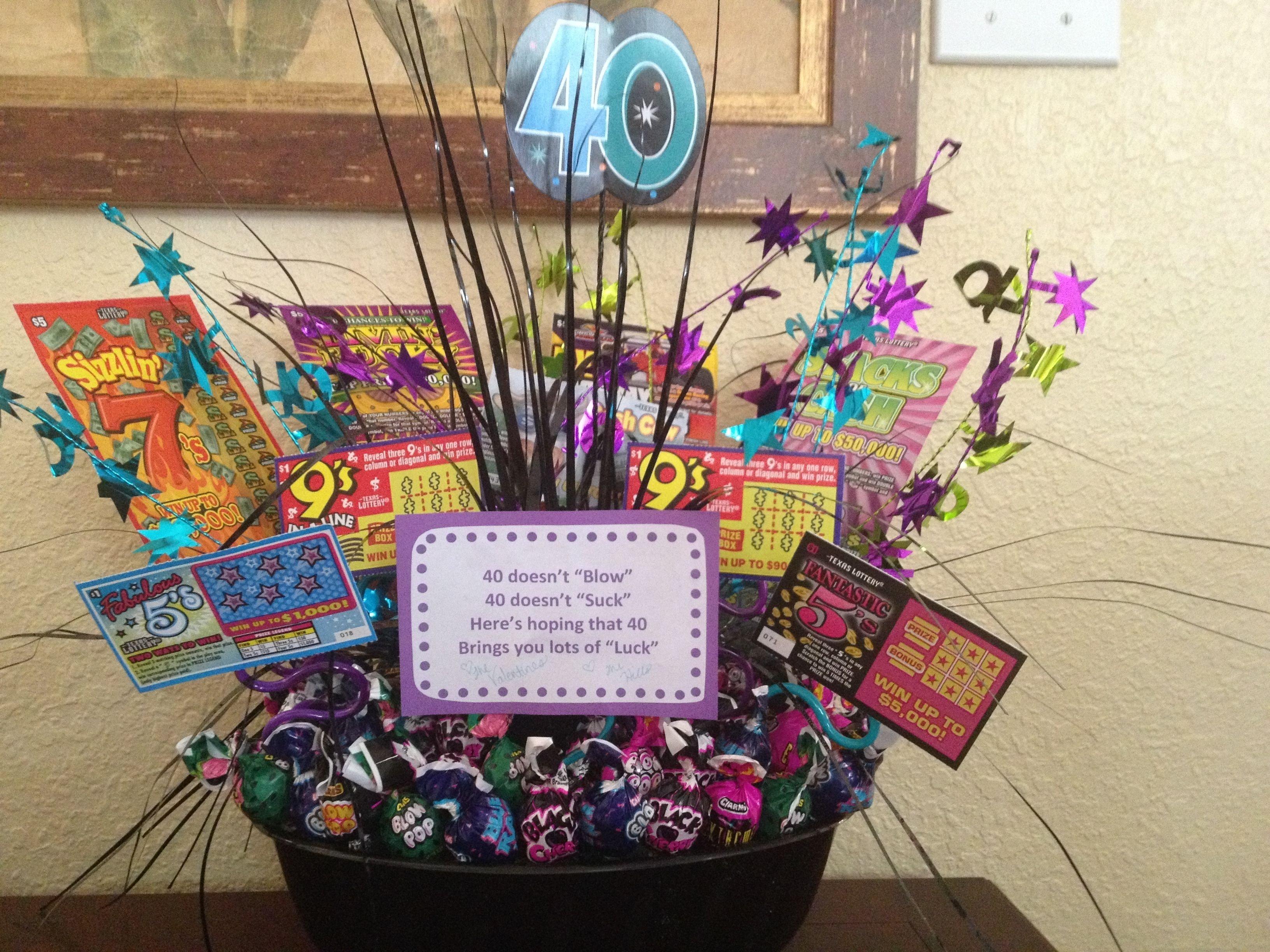 10 Best Creative 40Th Birthday Gift Ideas 40th Idea Crafty 40