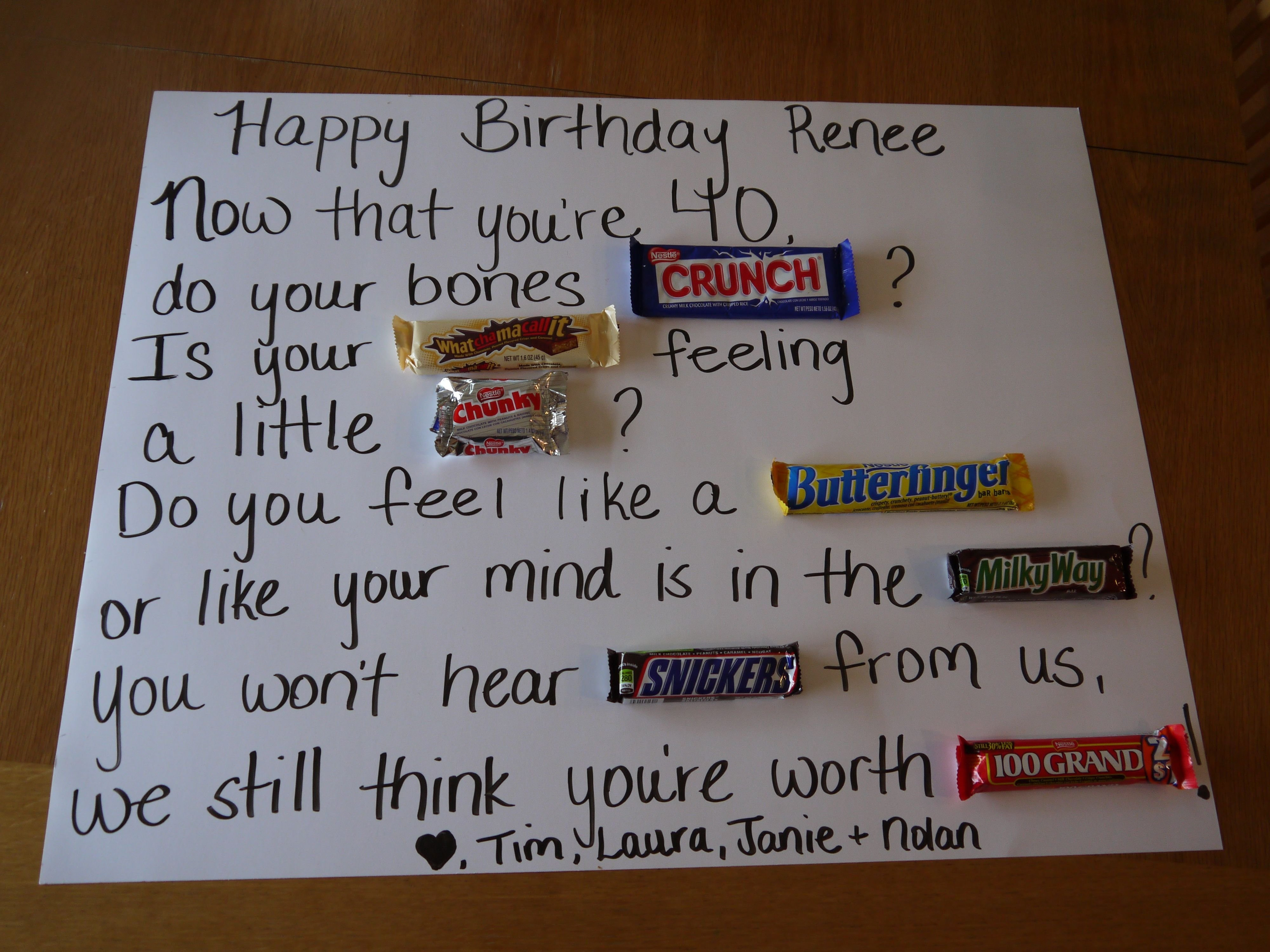 10 Awesome Gift Ideas For 40Th Birthday 40th birthday ideas 40 birthday pinterest decorating and birthdays 4 2020