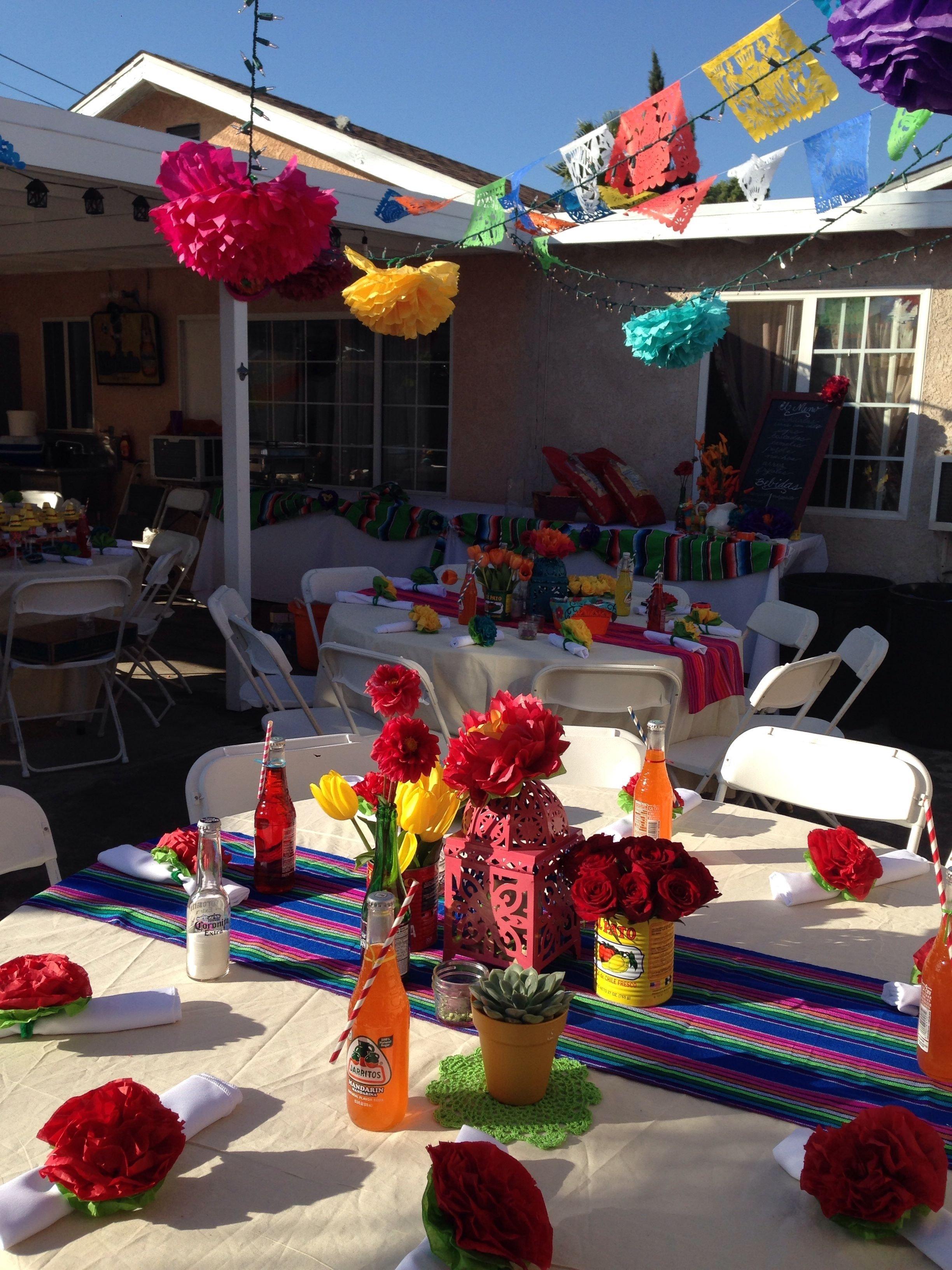 10 Attractive Creative 40Th Birthday Party Ideas 40th birthday mexican fiesta party being creative pinterest 1