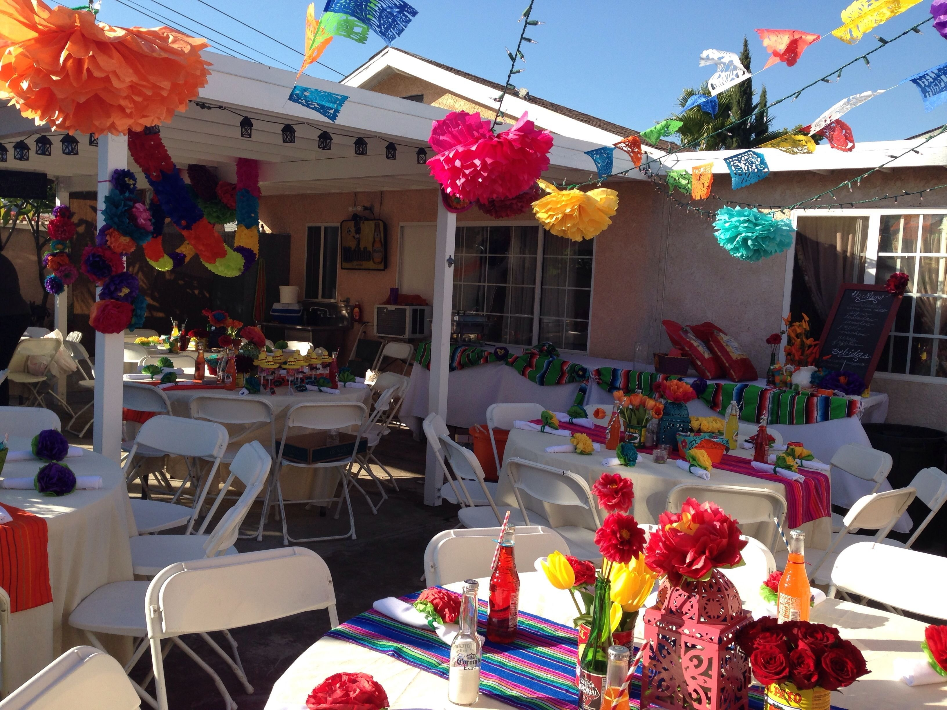 10 Attractive Mexican Party Ideas For Adults 40th birthday mexican fiesta party being creative pinterest 2 2021