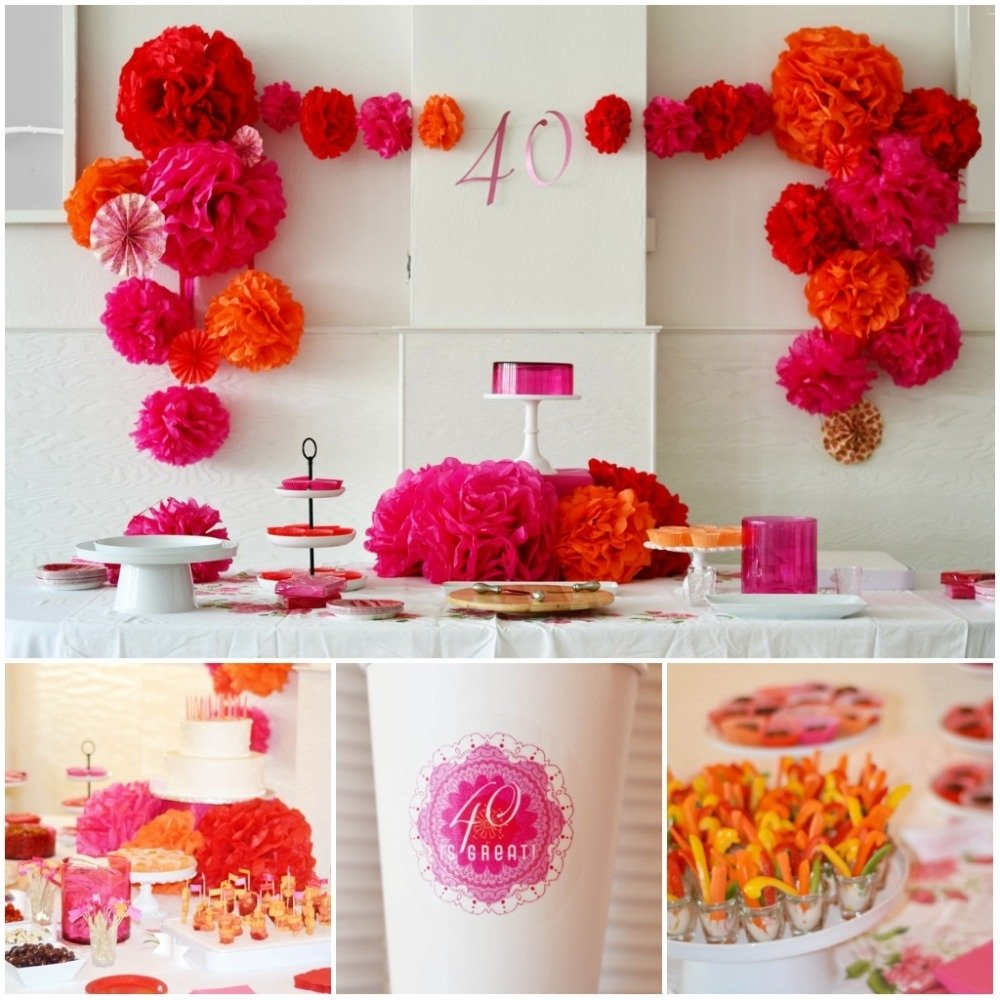10 Fantastic 40Th Birthday Party Ideas For Women 40th birthday party idea 2020