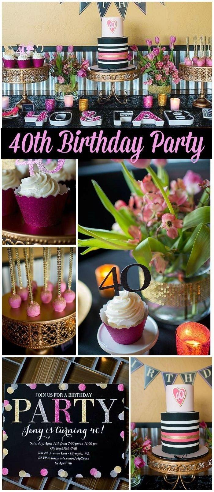 10 Nice Ideas For 40Th Birthday Celebration 40th birthday party ideas budget tags 40th birthday celebration 2020