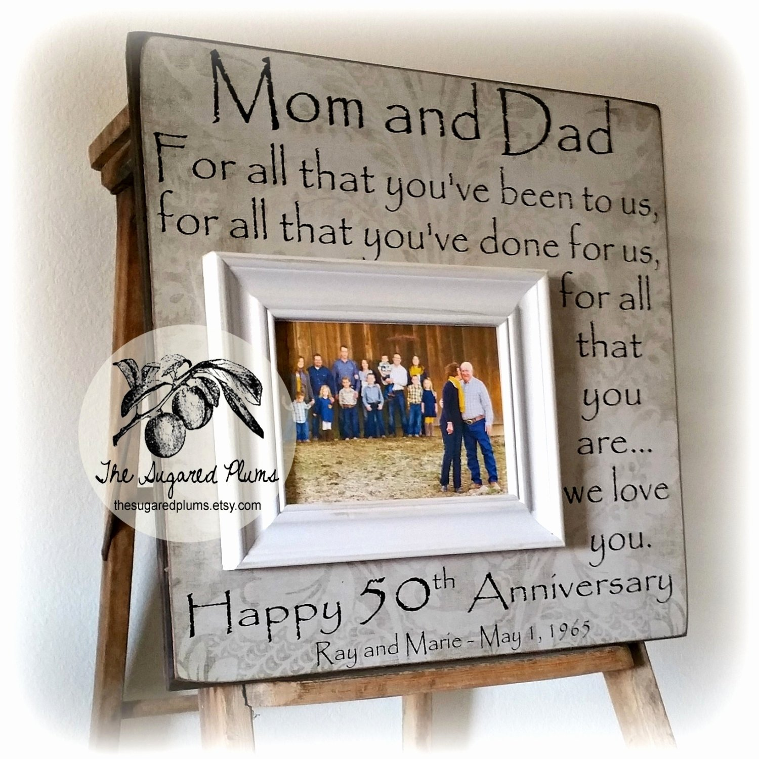 50th Wedding Anniversay Gifts: 10 Fashionable 50Th Wedding Anniversary Ideas For Parents 2019