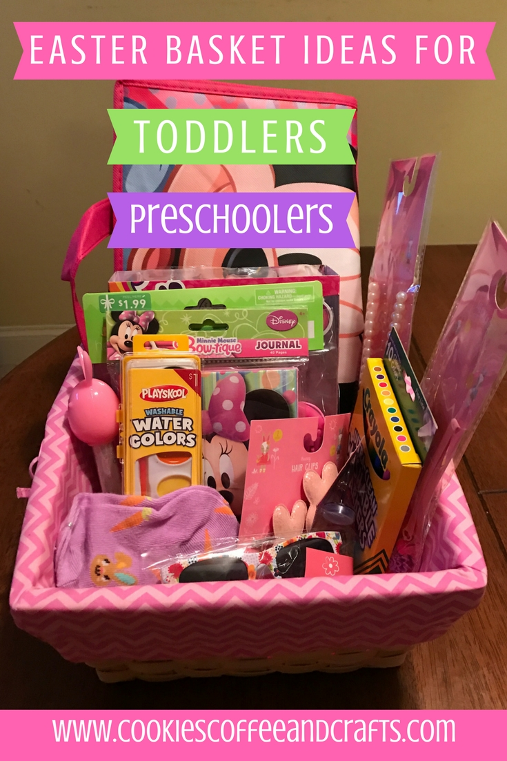 41 easter basket ideas for toddlers and preschoolers - cookies