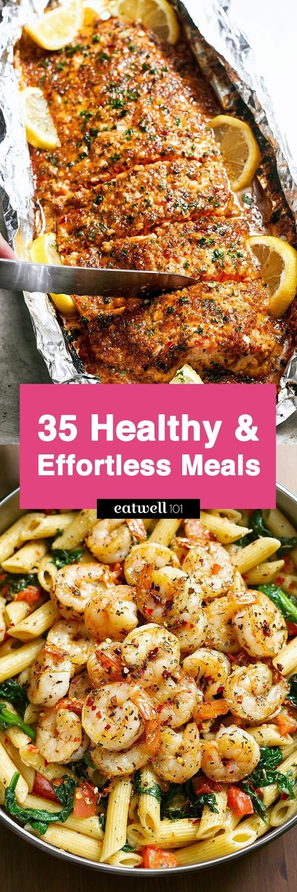10 Spectacular Healthy Dinner Ideas For One 41 low effort and healthy dinner recipes eatwell101 38 2020