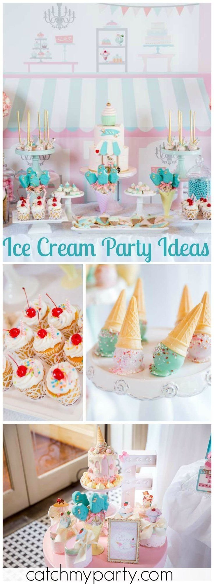 10 Most Recommended Ice Cream Social Party Ideas 411 best ice cream party ideas images on pinterest birthdays 2 2020