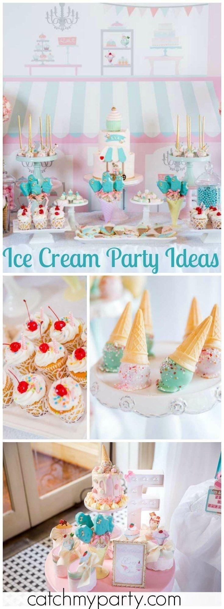 10 Fabulous Ice Cream Birthday Party Ideas 411 best ice cream party ideas images on pinterest birthdays 2020
