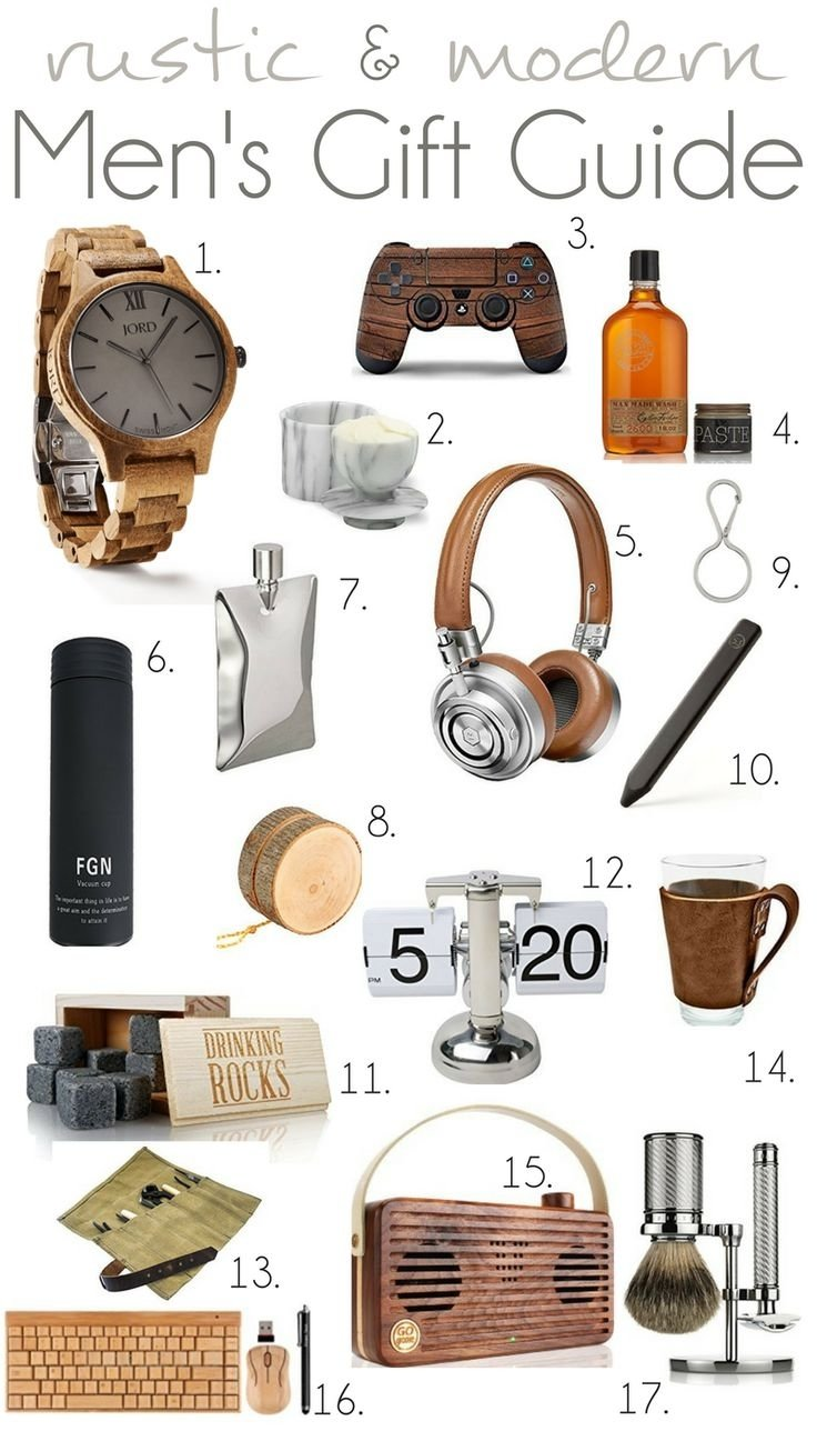 10 Trendy Unique Gift Ideas For Men Who Have Everything 412 best unique gifts for the hard to buy for guy in your life 3 2021