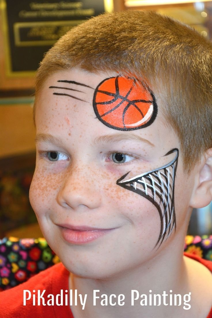 10 Attractive Face Painting Ideas For Boys 421 best boys face paint designs images on pinterest face