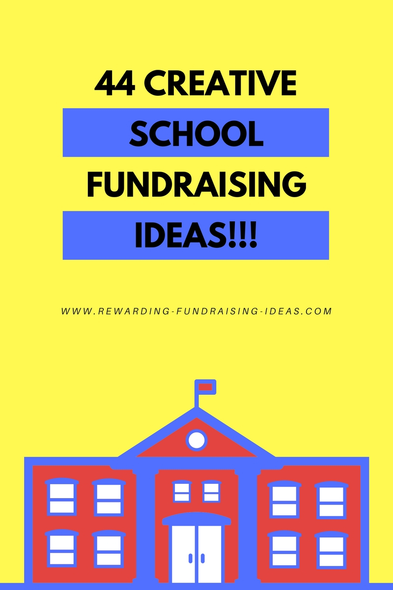 44 creative school fundraising ideas - that you will love