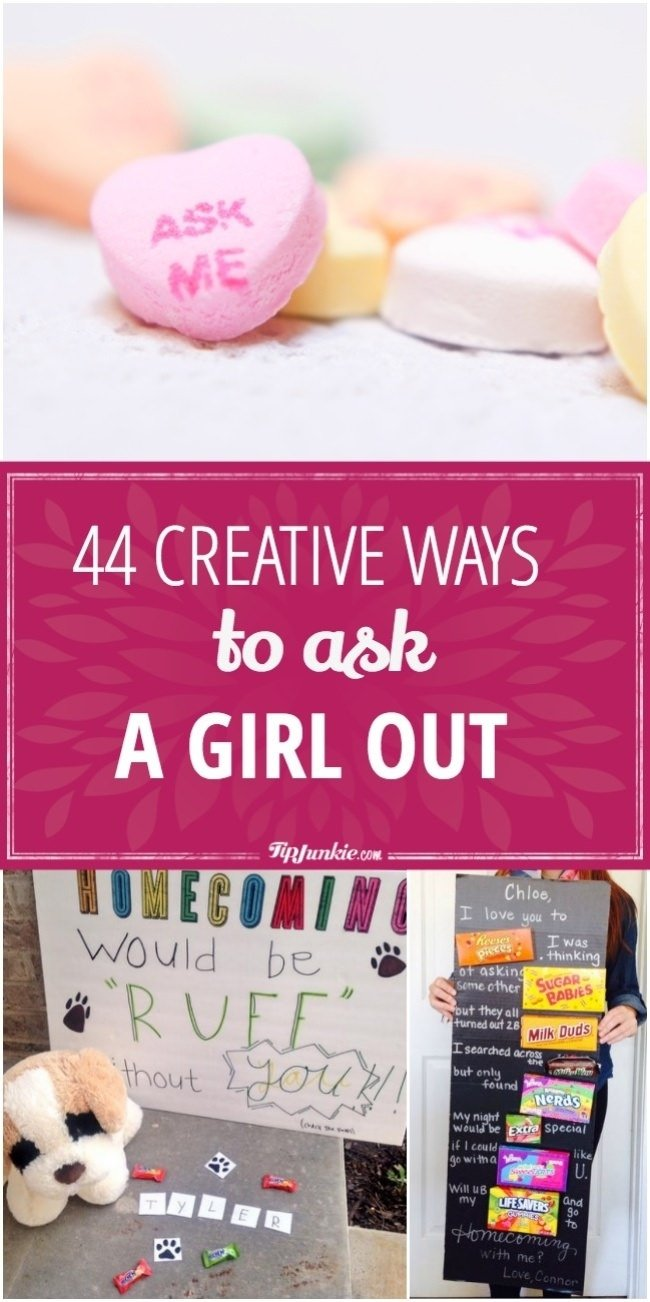 44 creative ways to ask a girl out | tip junkie