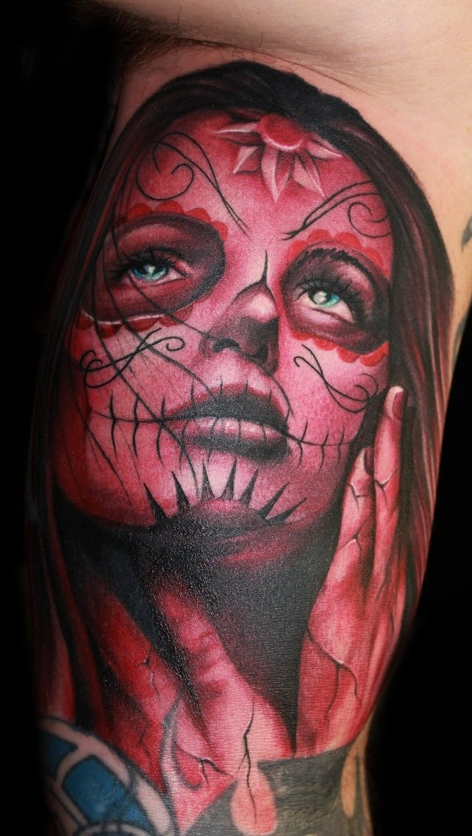 10 Fashionable Day Of The Dead Tattoo Ideas 44 elegant day of the dead tattoos gallery 2021