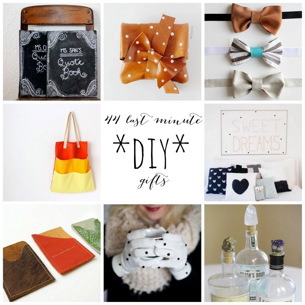 10 Lovable Last Minute Homemade Gift Ideas 44 last minute diy gifts make these in 45 minutes or less with 2020