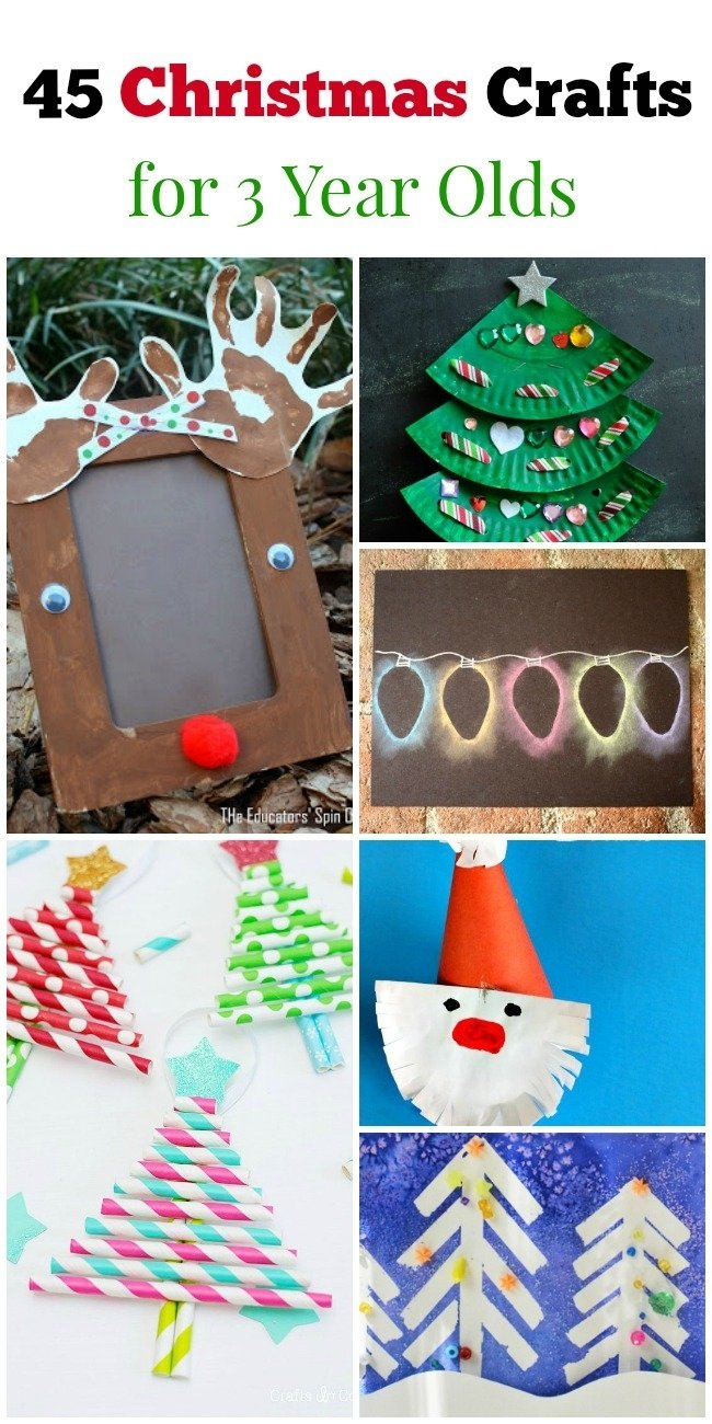 10 Cute Craft Ideas For 3 Year Olds 45 christmas crafts for 3 year olds how wee learn 2021