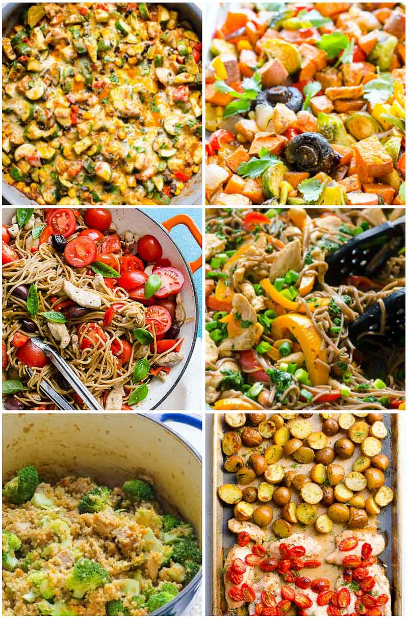 10 Amazing What Are Good Dinner Ideas 45 easy healthy dinner ideas in 30 minutes ifoodreal healthy 3 2021