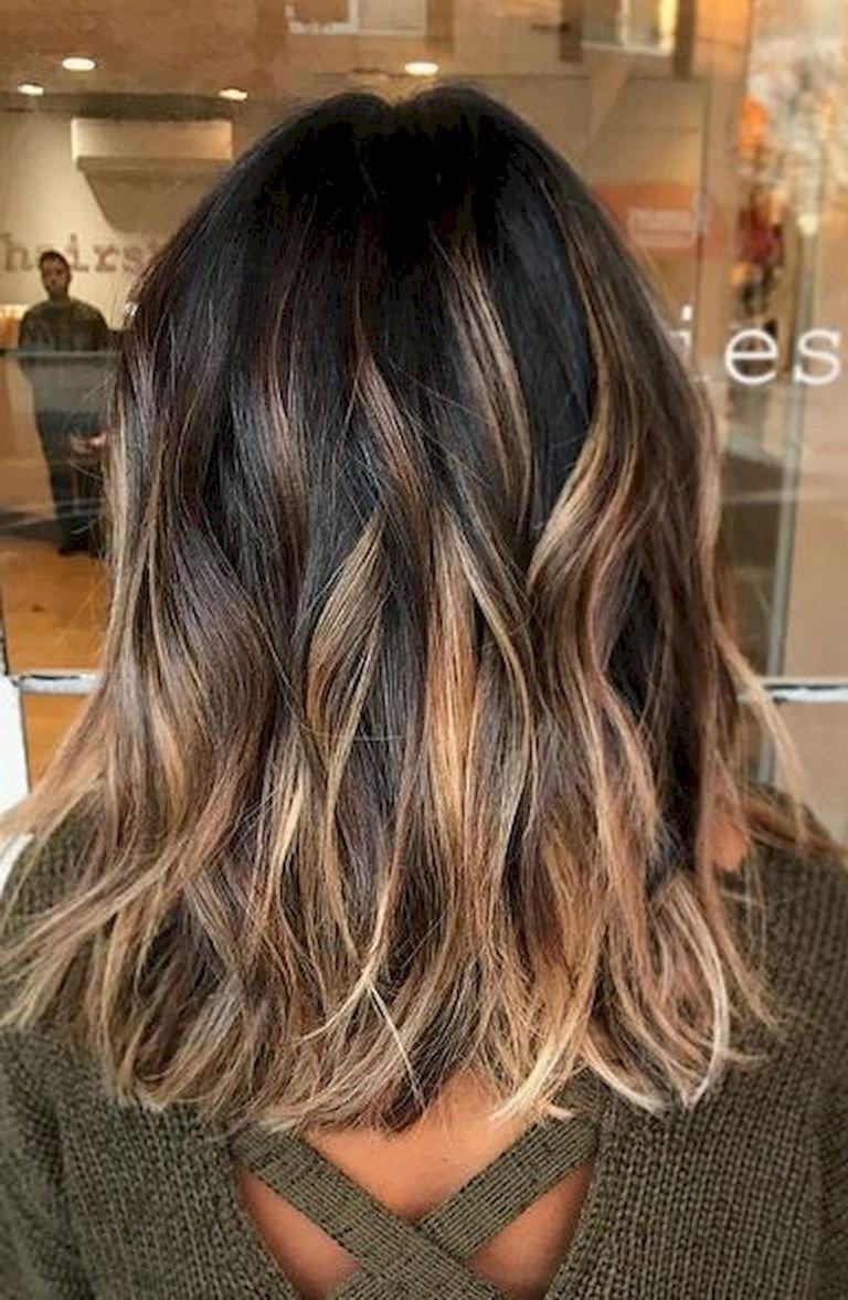 10 Nice Cool Hair Color Ideas For Brunettes 45 hair color ideas for brunettes for fall winter summer coiffures 1 2021
