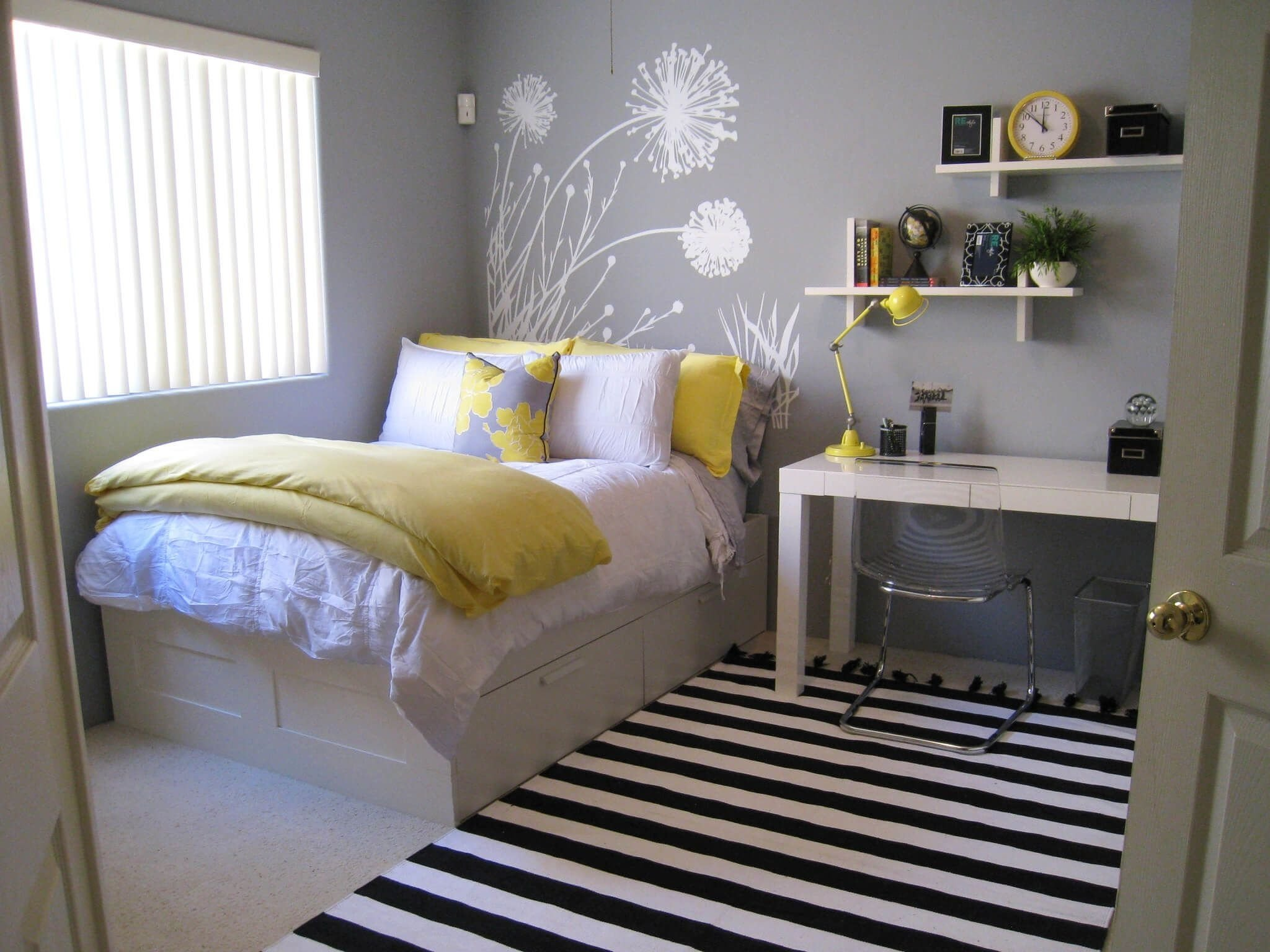 10 Pretty Room Decor Ideas For Small Rooms 45 inspiring small bedrooms pinteres 6 2020