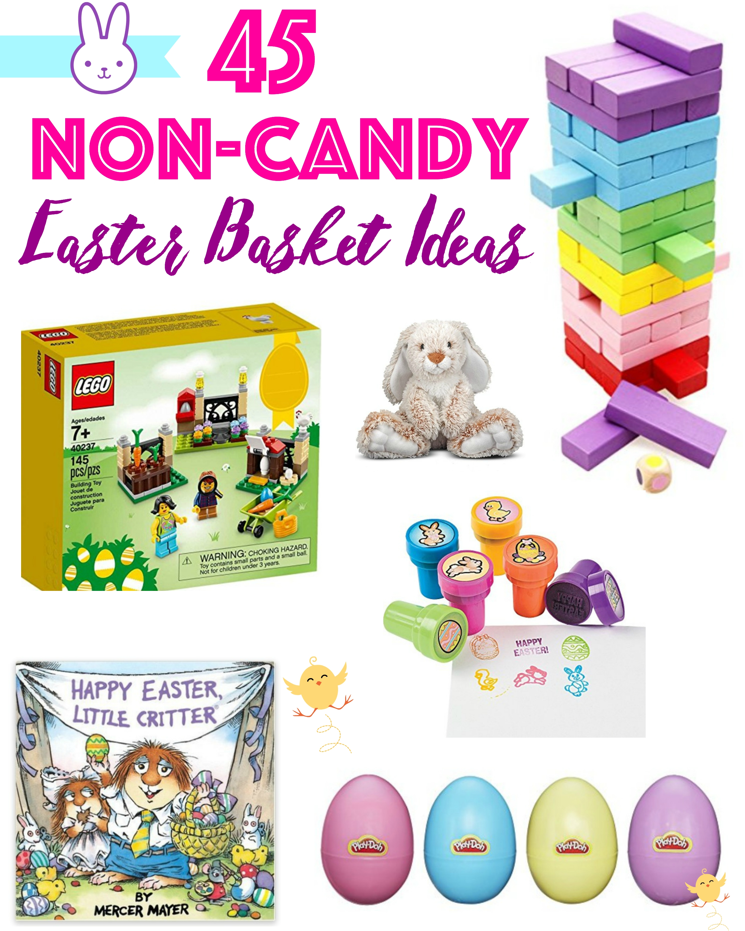 10 Cute Non Candy Easter Basket Ideas 45 non candy easter basket ideas for girls boys simply being mommy 1 2020