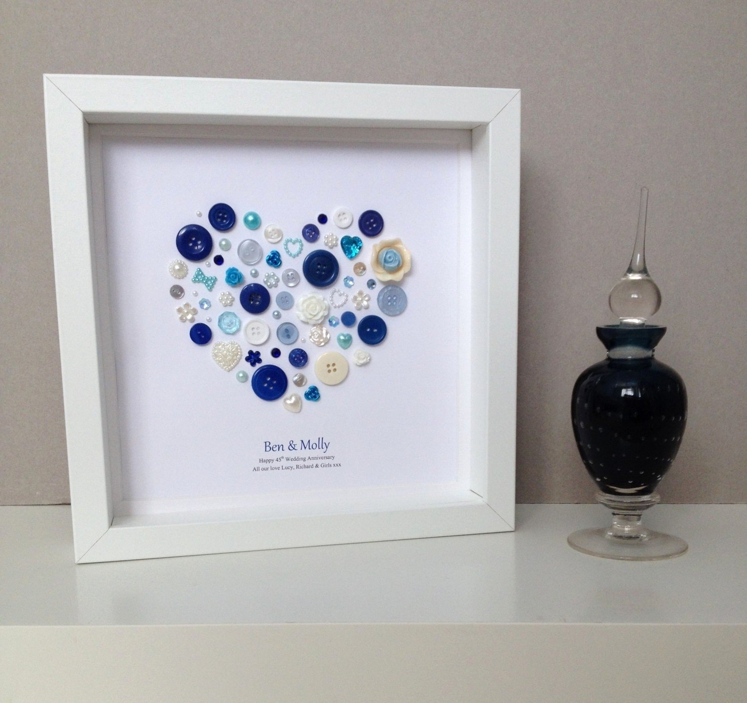 10 Awesome 45Th Wedding Anniversary Gift Ideas 45 wedding anniversary gift ideas lovely sapphire wedding