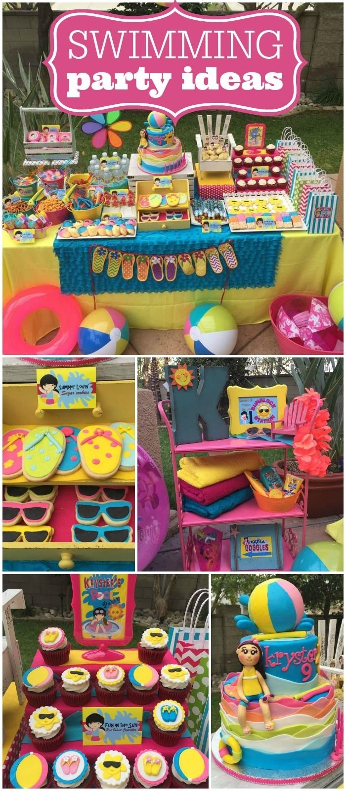 10 Pretty Pool Party Ideas For 13 Year Olds 4542 best party themes images on pinterest birthdays birthday