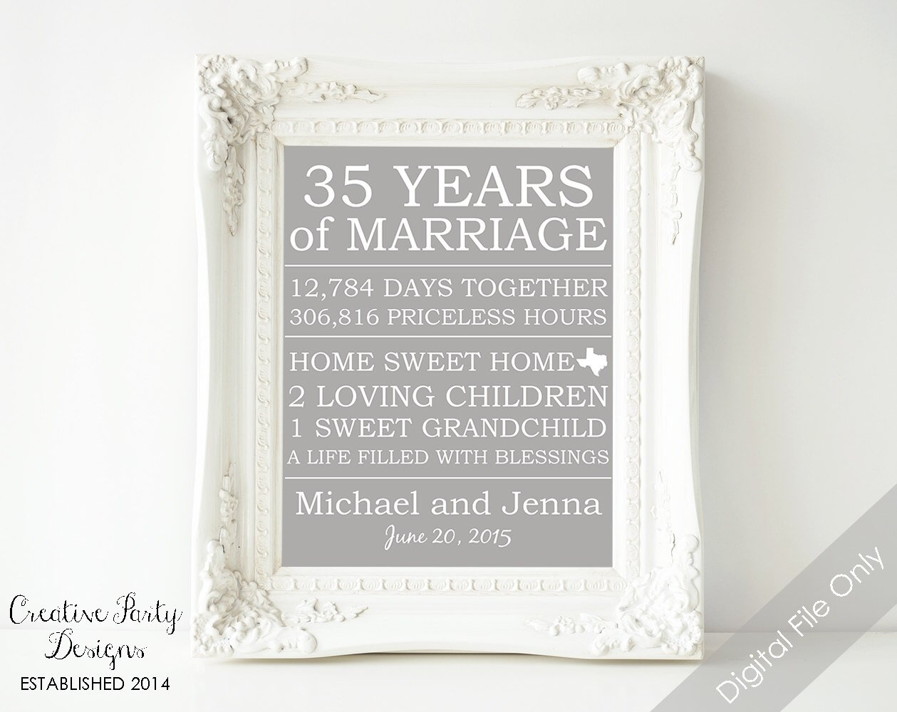 40th Wedding Anniversary Gifts For Husband: 10 Awesome 45Th Wedding Anniversary Gift Ideas For Parents