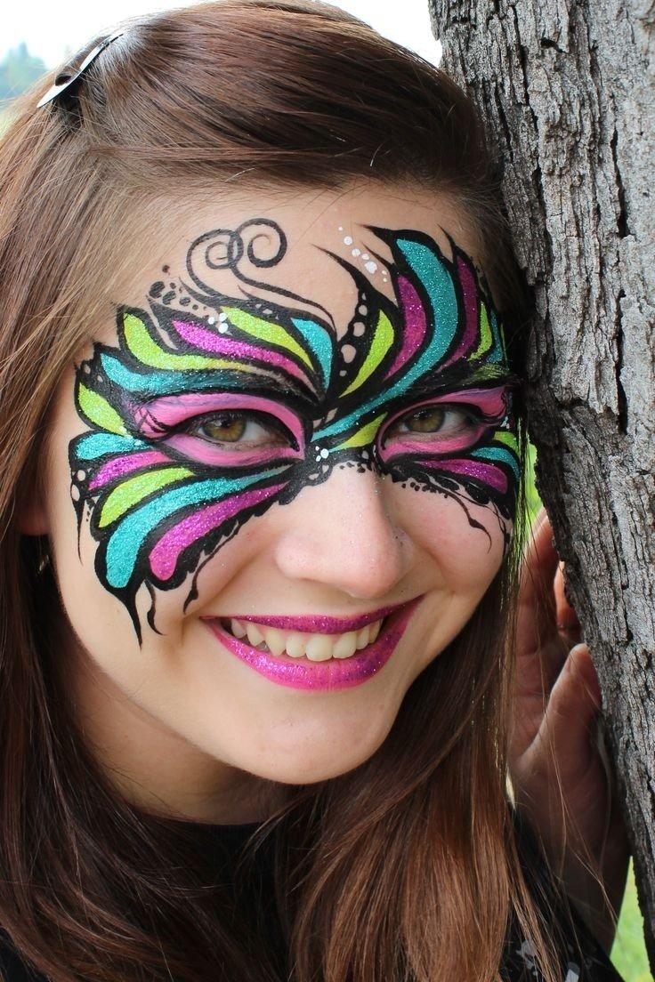 10 Wonderful Mardi Gras Face Painting Ideas 46 best face and body artjody rife images on pinterest body 2020