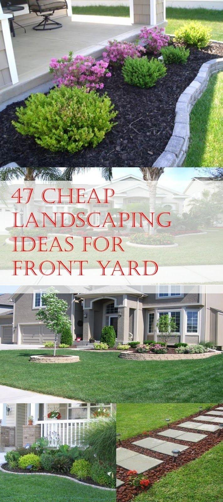 10 Unique Cheap Front Yard Landscaping Ideas 47 cheap landscaping ideas for front yard cheap landscaping ideas 1 2021