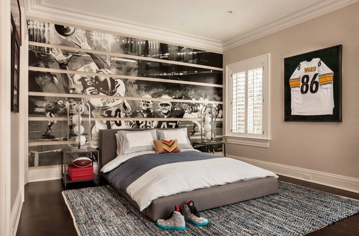 10 Cute Fun In The Bedroom Ideas 47 really fun sports themed bedroom ideas home remodeling 1 2020