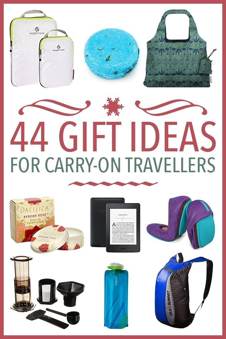 10 Lovely Gift Ideas For The Traveler 47 useful gift ideas for carry on travellers travel gifts packing 1 2020