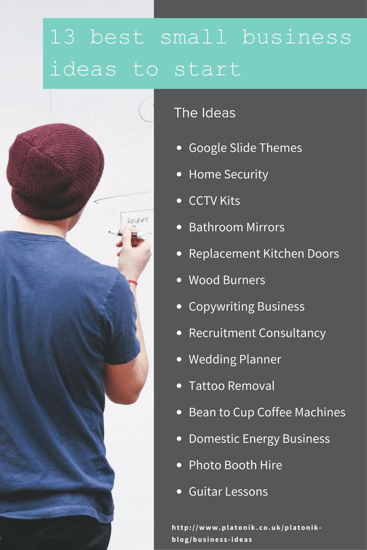 10 Best Good Ideas To Start A Business 48 best small business ideas to start at home or online 6