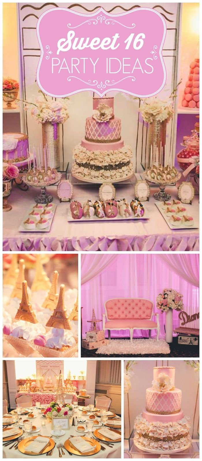 10 Stylish Sweet 16 Gift Ideas For Niece 48 best sweet sixteen party ideas from glam paperie images on