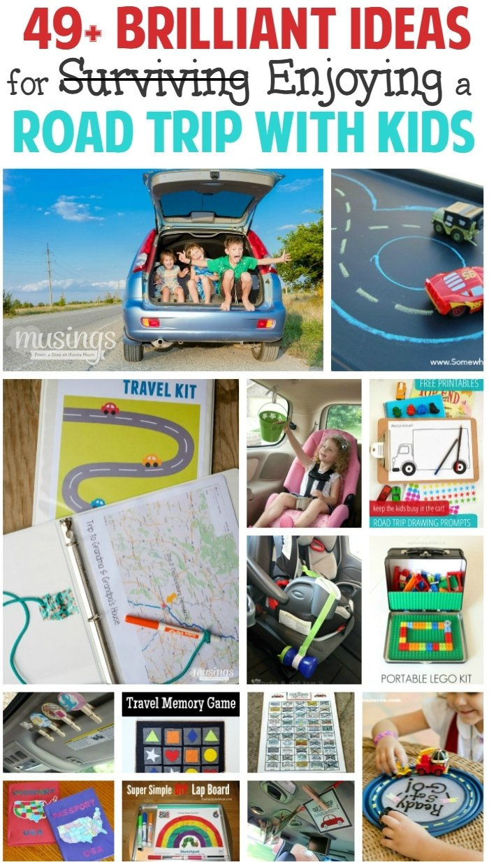 49+ brilliant ideas for enjoying a road trip with kids - living well mom