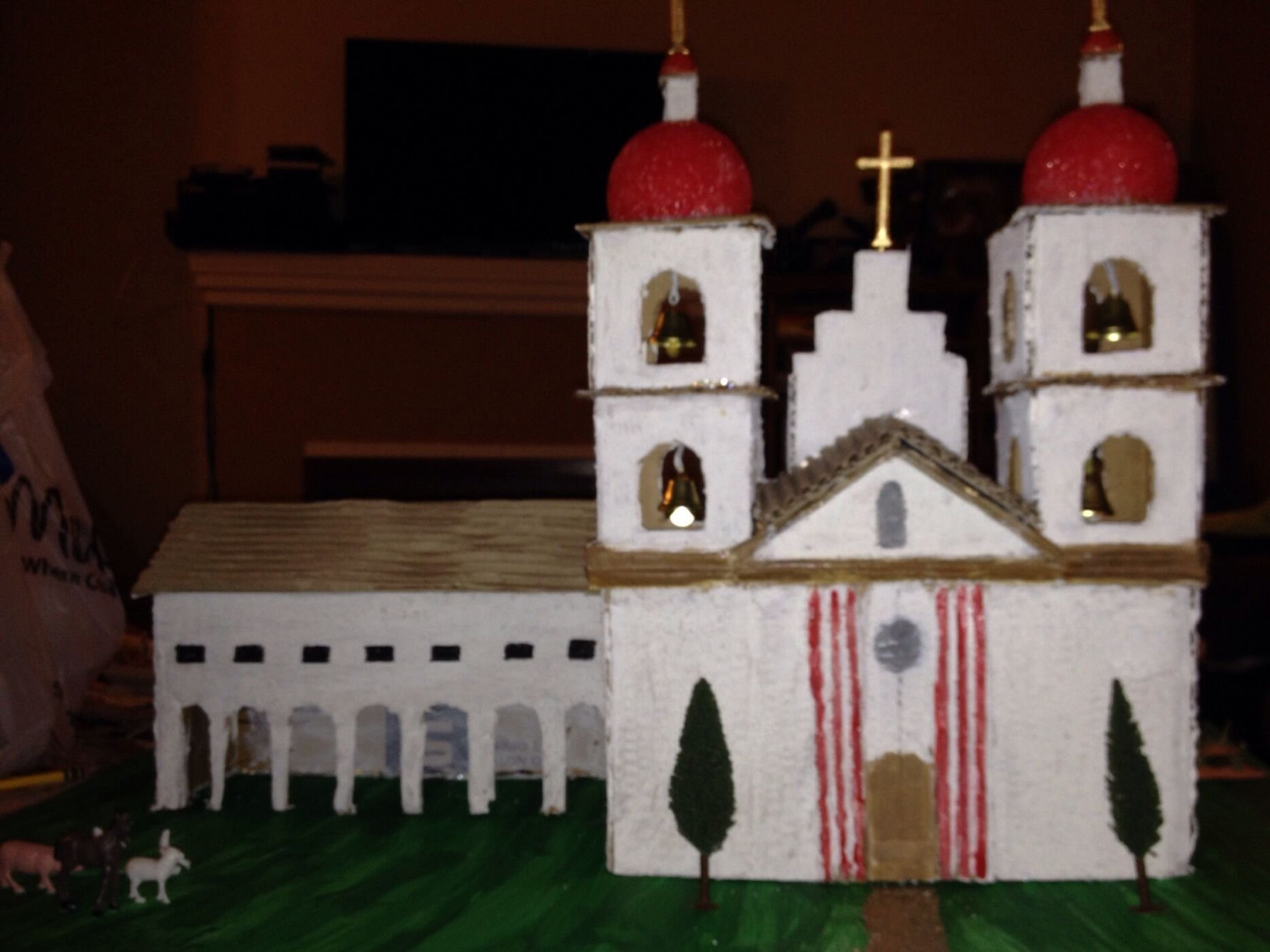 4th grade mission project- mission santa barbara | kid stuff