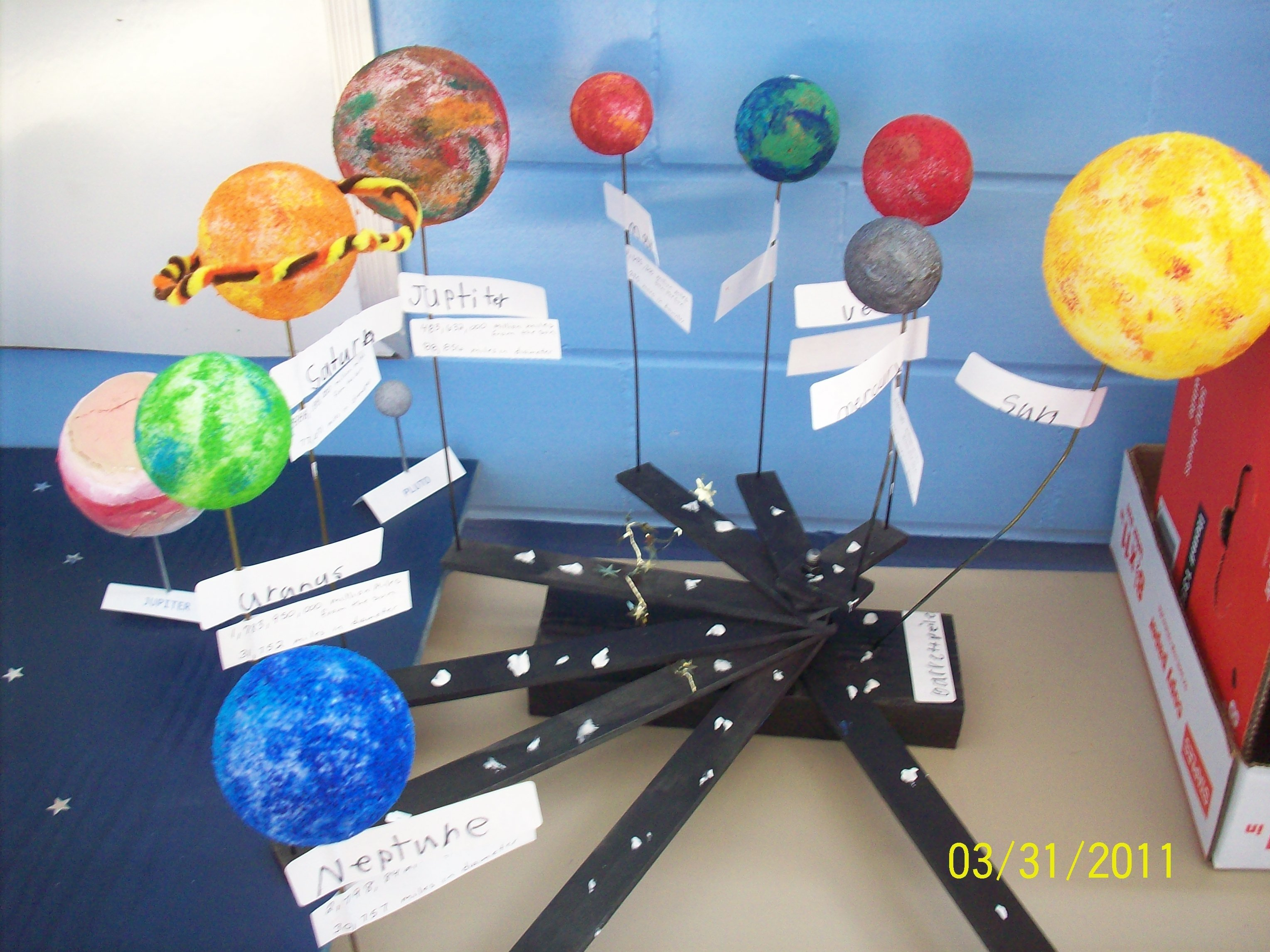 10 Attractive Science Project Ideas For 4Th Graders 4th grade solar system project deacons project pinterest 4 2020