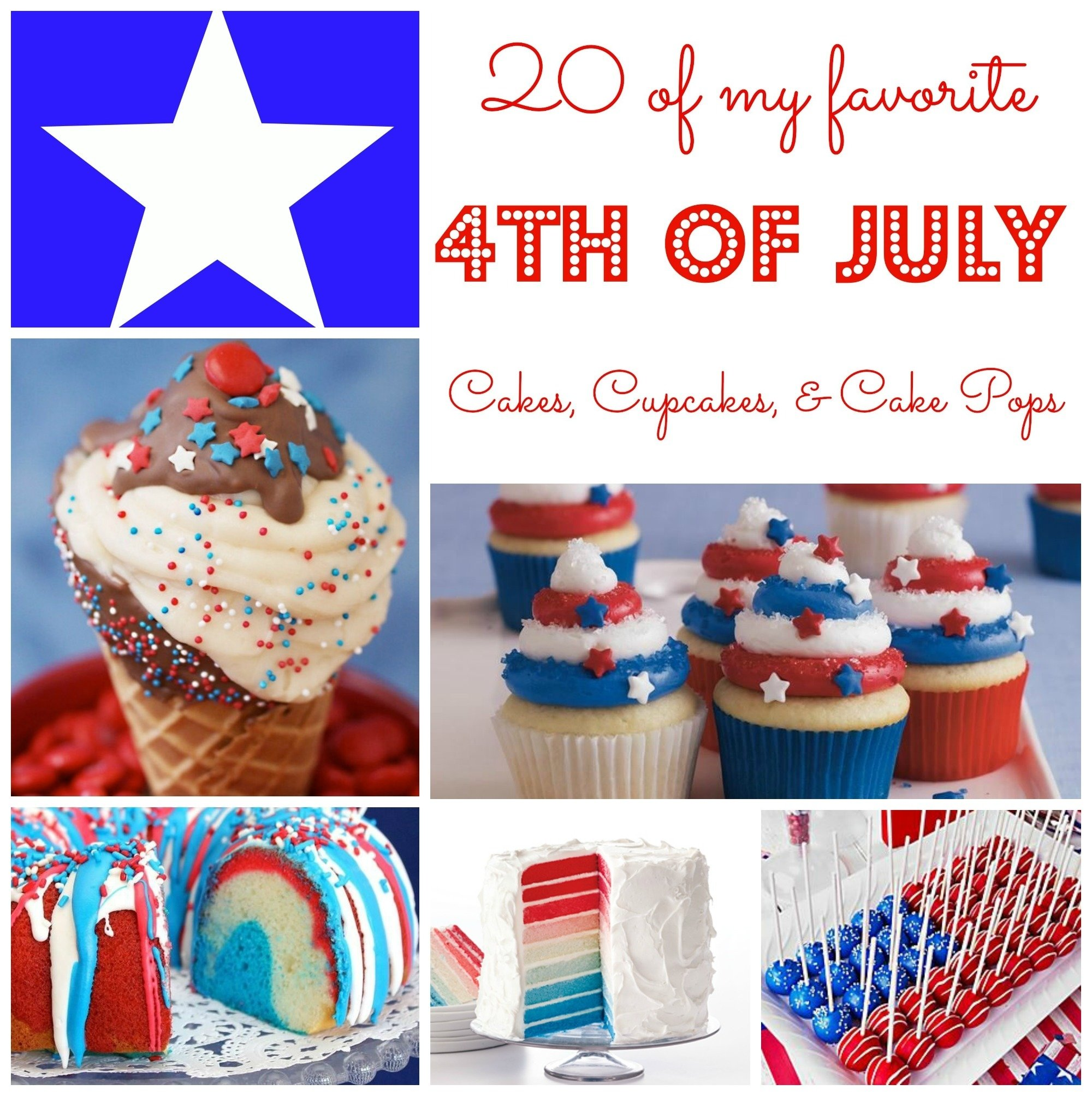10 Beautiful Ideas For The 4Th Of July 4th of july cake ideas simply being mommy 2021