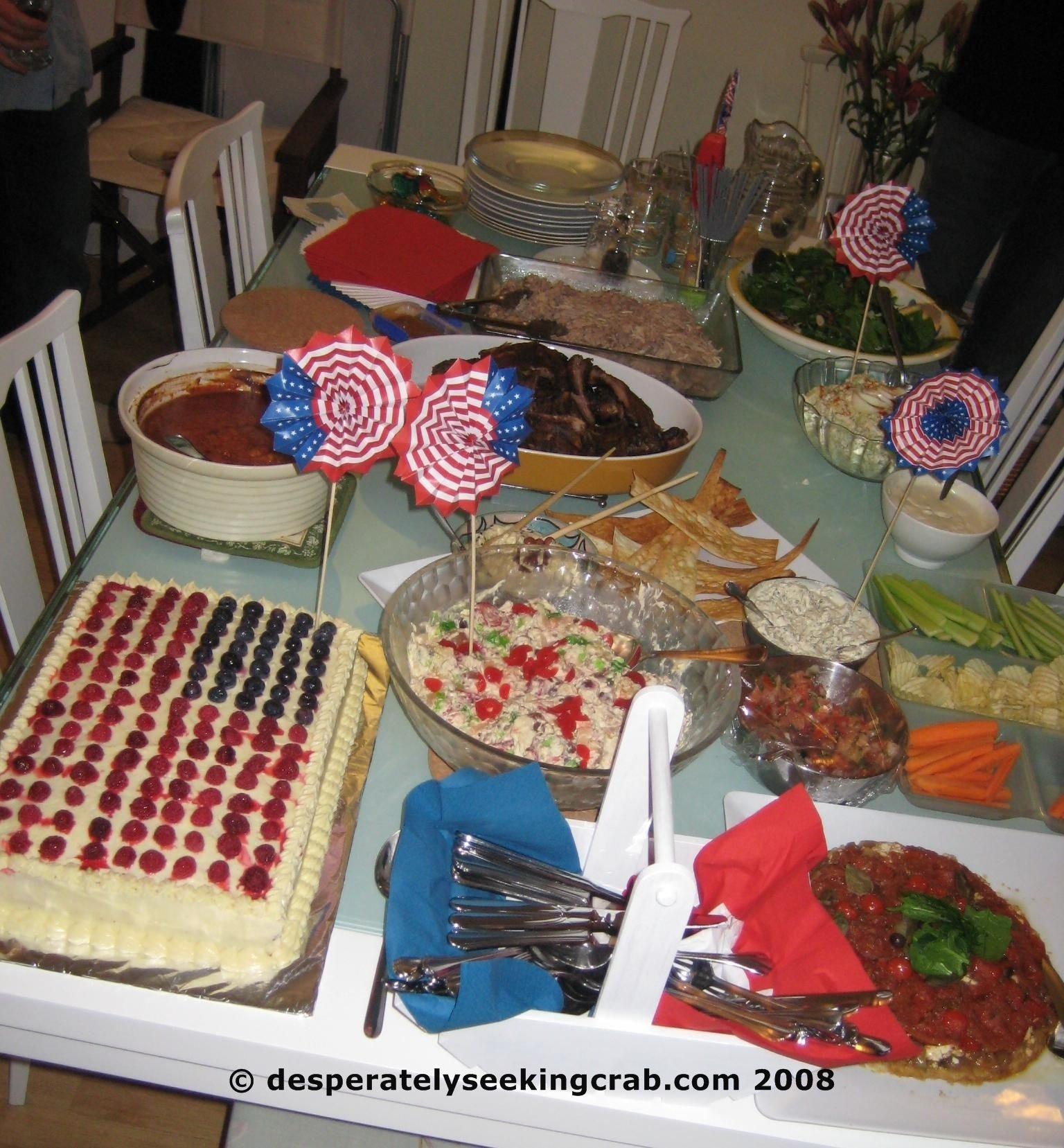10 Pretty 4Th Of July Potluck Ideas 4th of july desperately seeking crab 2020