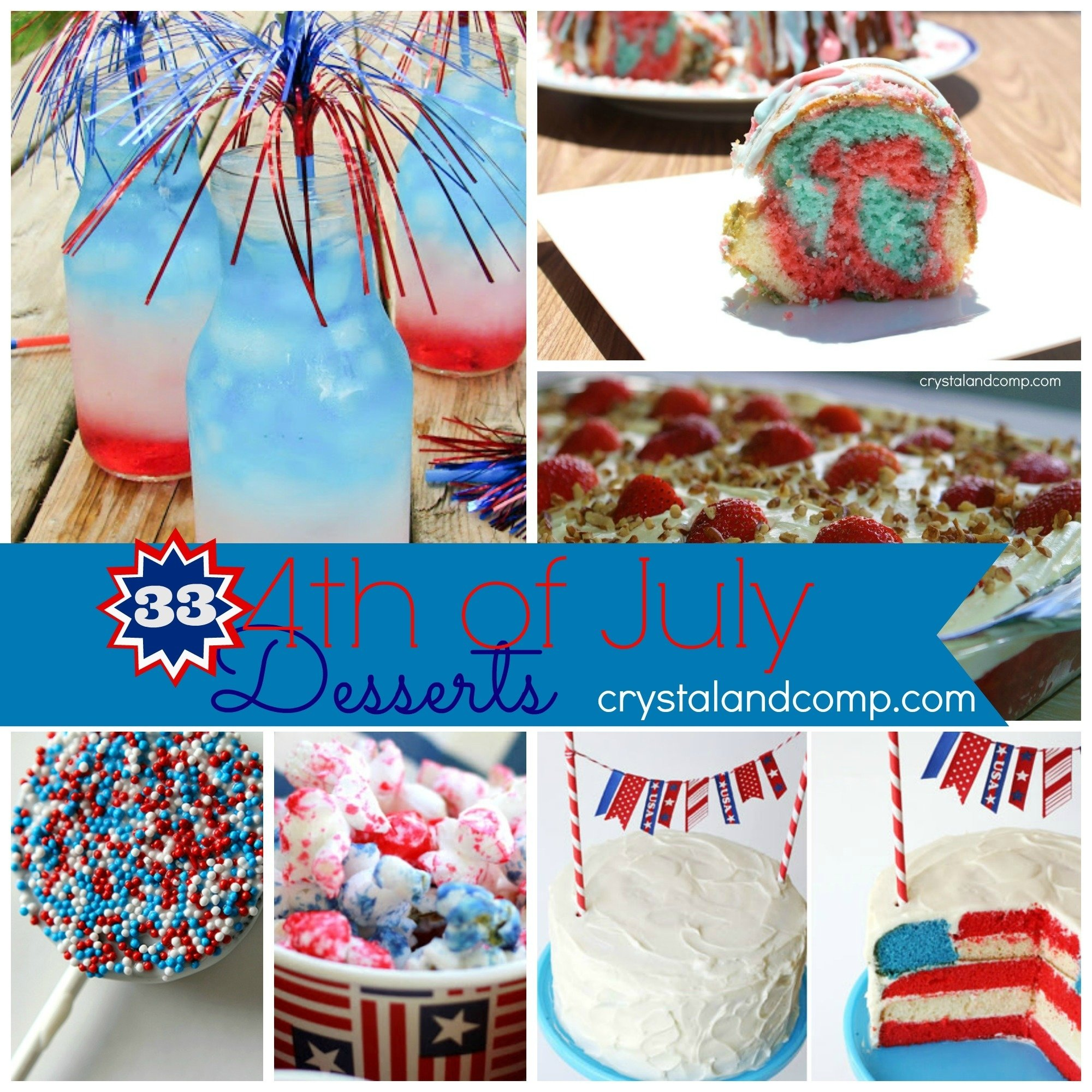 10 Stunning 4Th Of July Snack Ideas 4th of july dessert fourth of july food 1