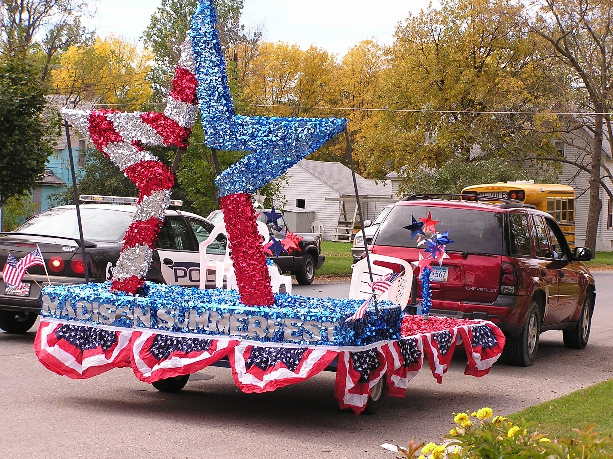 4th of july floats | the official madison chamber float: july 4th