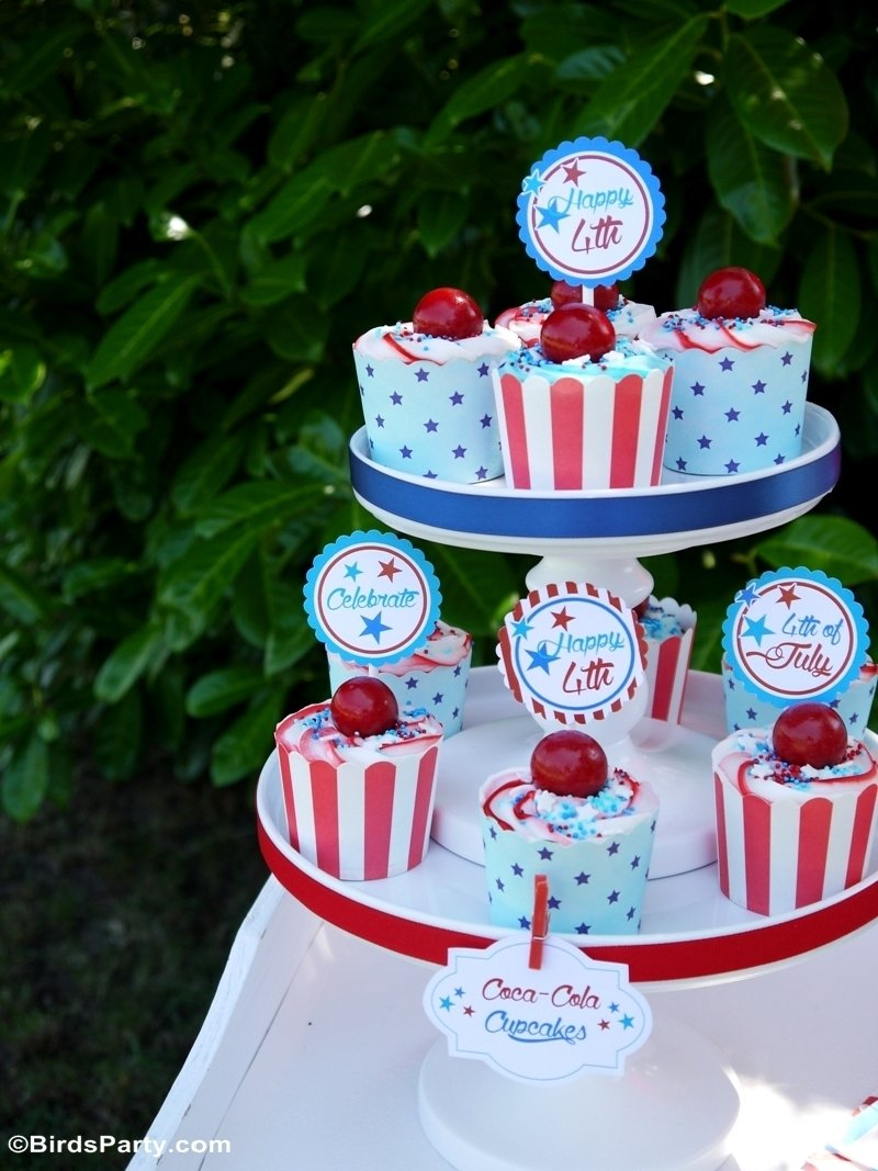 10 Perfect Fourth Of July Picnic Ideas 4th of july garden picnic party ideas party ideas party printables 3 2021